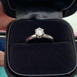 .42 carat platinum Tiffany engagement ring